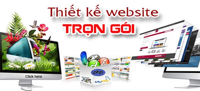 dịch vụ Thiết kế website trọn gói trọn gói