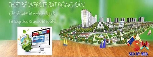 thiết kế web bất động sản trọn gói