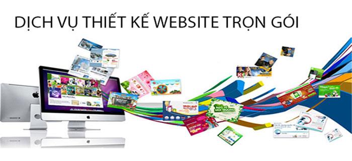 Thiết kế web trọn gói trọn gói