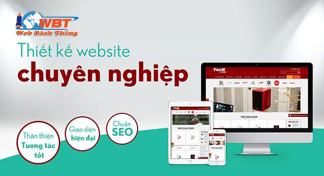 Thiết kế website chuyên nghiệp WBT
